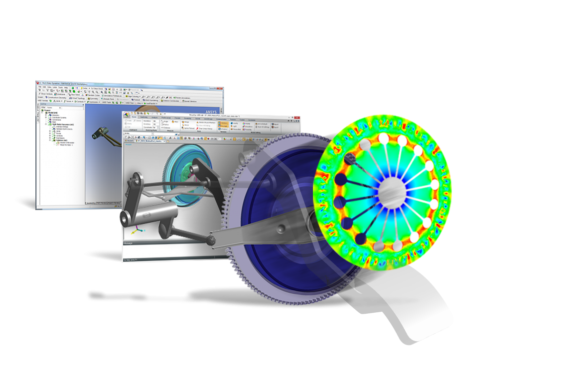 MBD for Ansys powered by RecurDyn