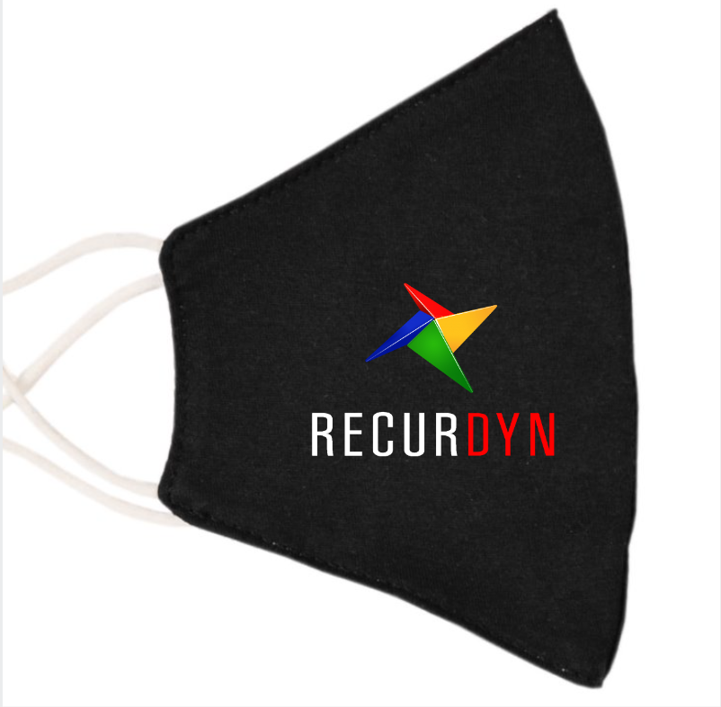 The new RecurDyn V9 R4 will soon be released for the European market and will be available for you on our website. Additional informations will drop in the next days. In order to shorten the waiting time, we offer you and your team a high quality manufactured, free of cost RecurDyn mask. If you are interested in such masks, please send us a short email with the desired number and your address. Please send your email until November 25th, 2020 to: RecurDyn-Mask@Recurdyn.de Then we will of course send you the mask(s) immediately. This offer is valid while stocks last. We are looking forward to your feedback.Your RecurDyn Team