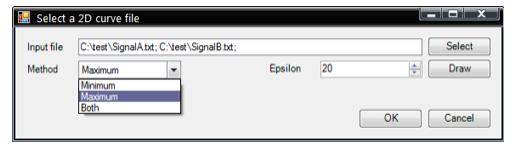 FBG Curve Envelope for RecurDyn V8 R5, RecurDyn V9 R1 / R2 / R3