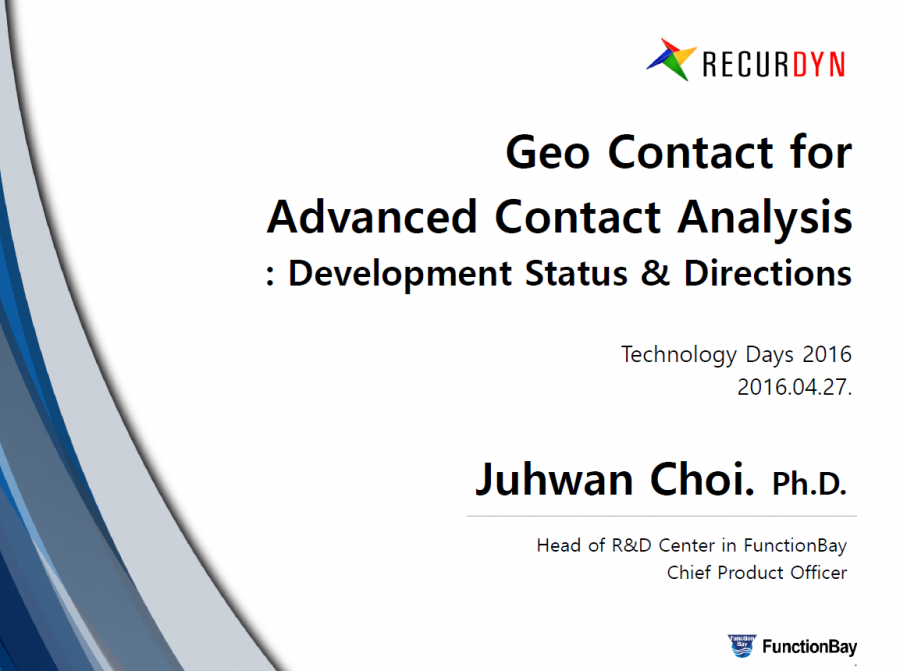 Geo Contact for Advanced Contact Analysis
